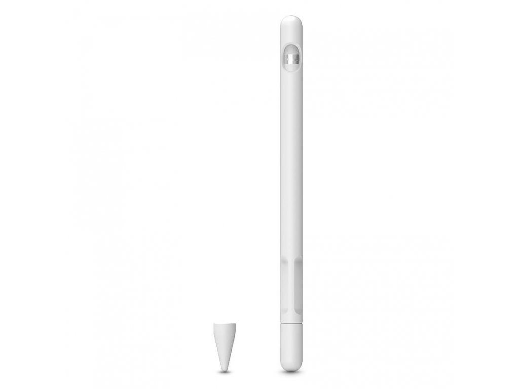 Obal pro Apple Pencil 1 - Tech-Protect, Smooth White