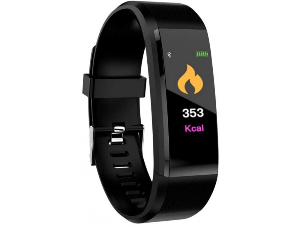 Bluetooth fitness náramek - 115plus Black