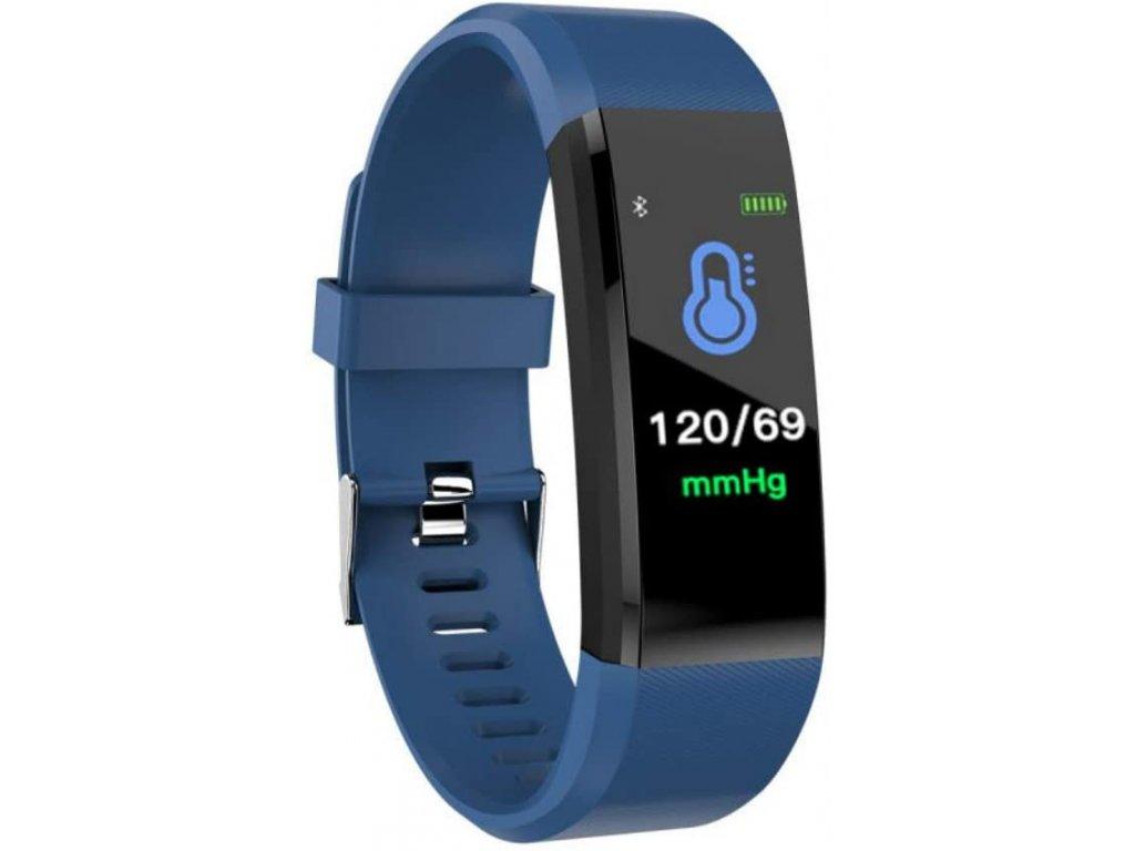 Bluetooth fitness náramek - 115plus Blue