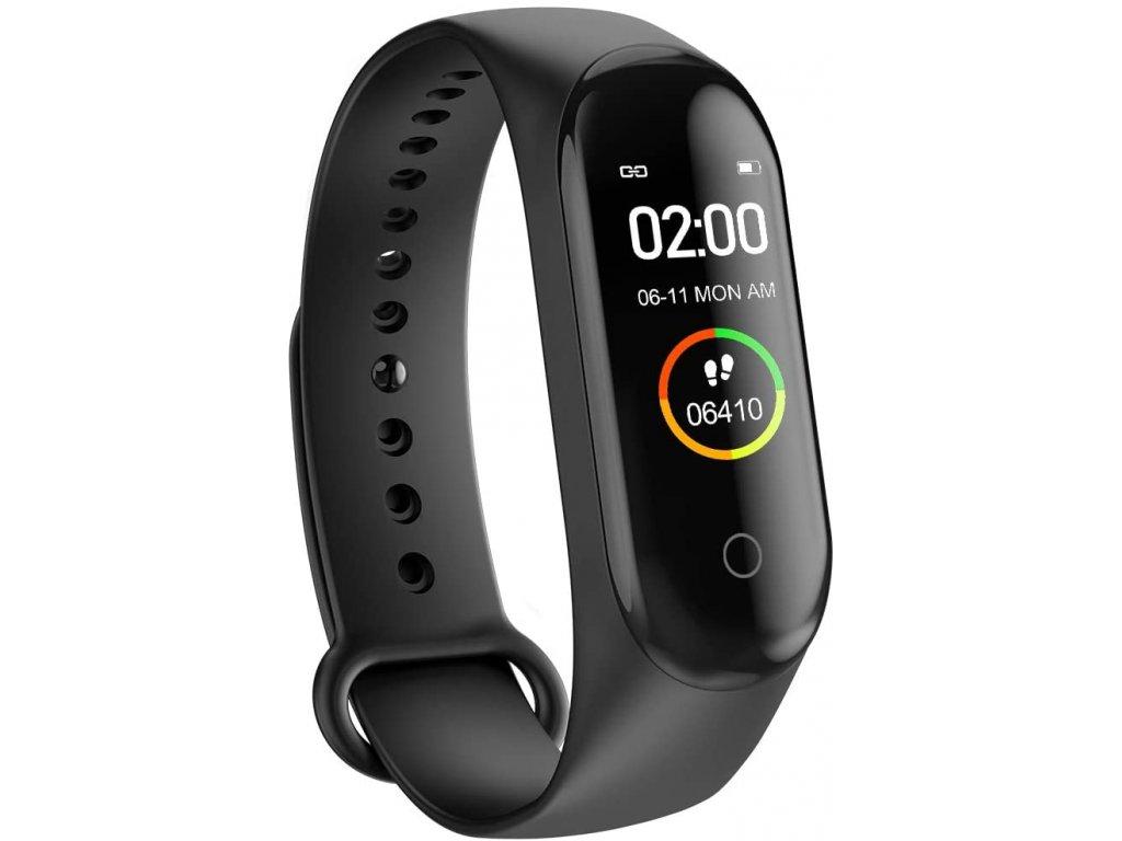 Bluetooth fitness náramek - M4 Black