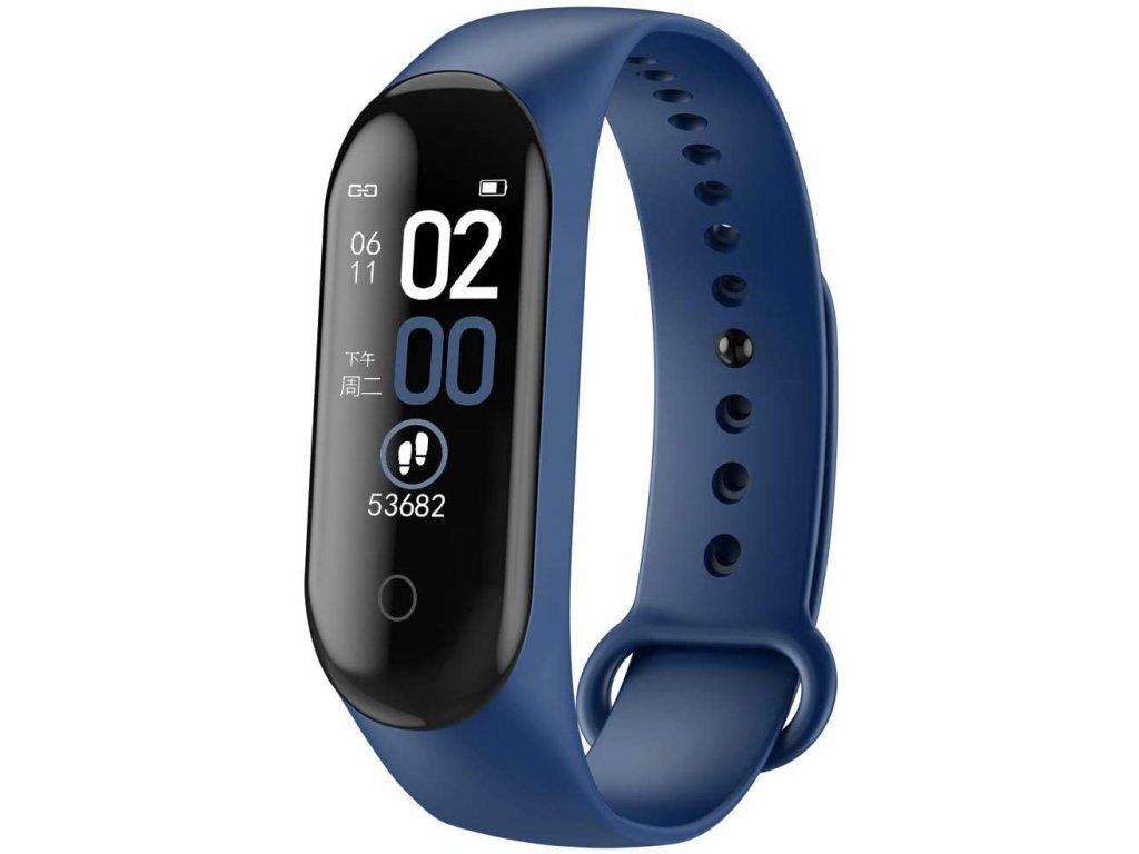 Bluetooth fitness náramek - M4 Blue