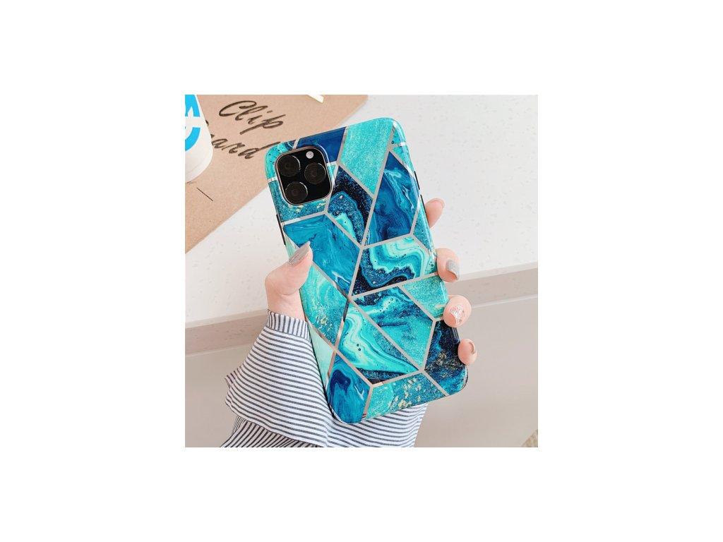 Ochranný kryt pro iPhone 11 Pro - Geometric Blue