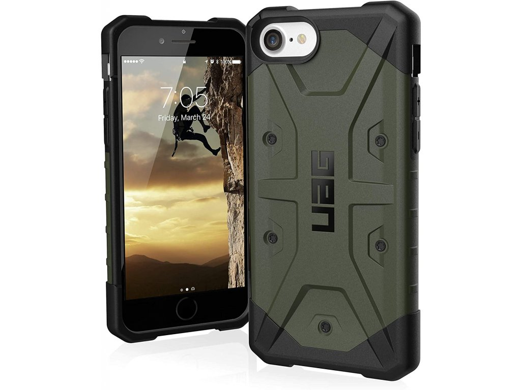 Ochranný kryt pro iPhone SE (2020) - UAG, Pathfinder Olive