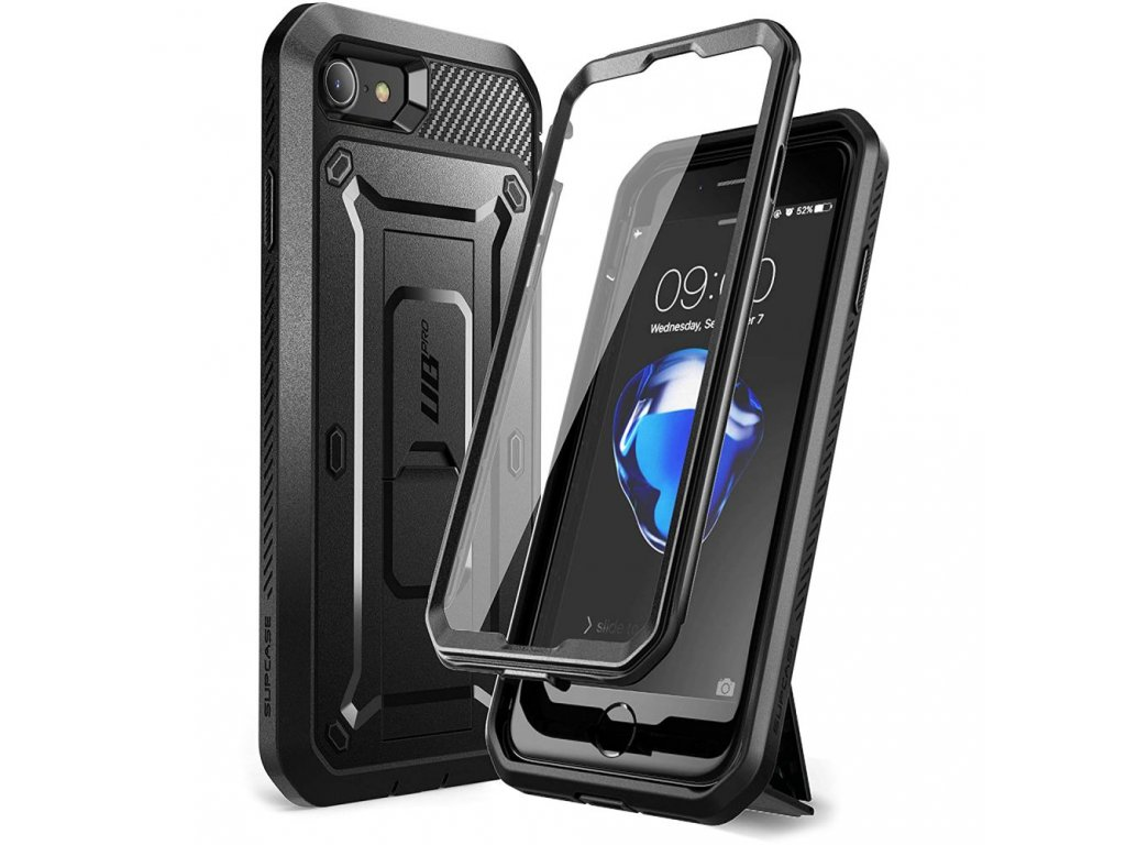 Ochranný kryt pro iPhone 7 / 8 / SE (2020) - Supcase, Unicorn Beetle Pro Black