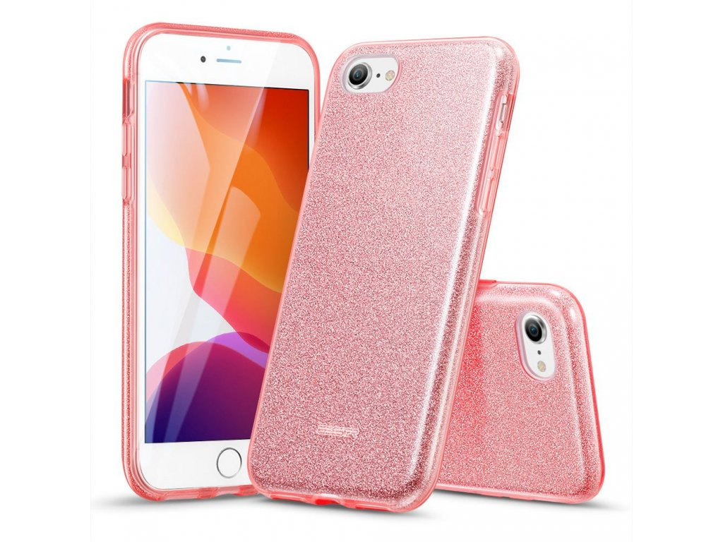 Ochranný kryt pro iPhone 7 / 8 / SE (2020) - ESR, Makeup Rose
