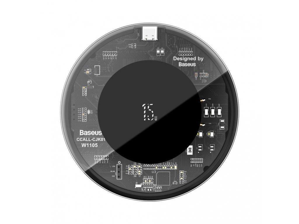 Bezdrátová rychlá nabíječka pro iPhone - BASEUS, Simple 15W Visible
