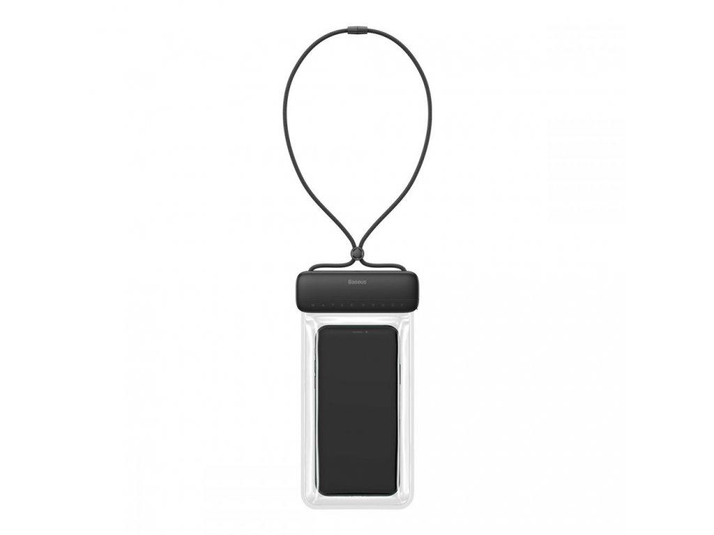 Plážové voděodolné pouzdro na mobil - Baseus, Lets Slip Black