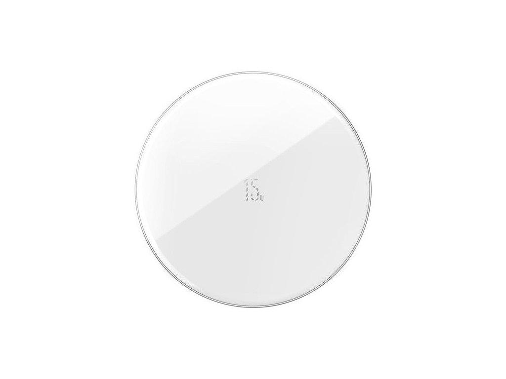 Bezdrátová rychlá nabíječka pro iPhone - BASEUS, Simple 15W White