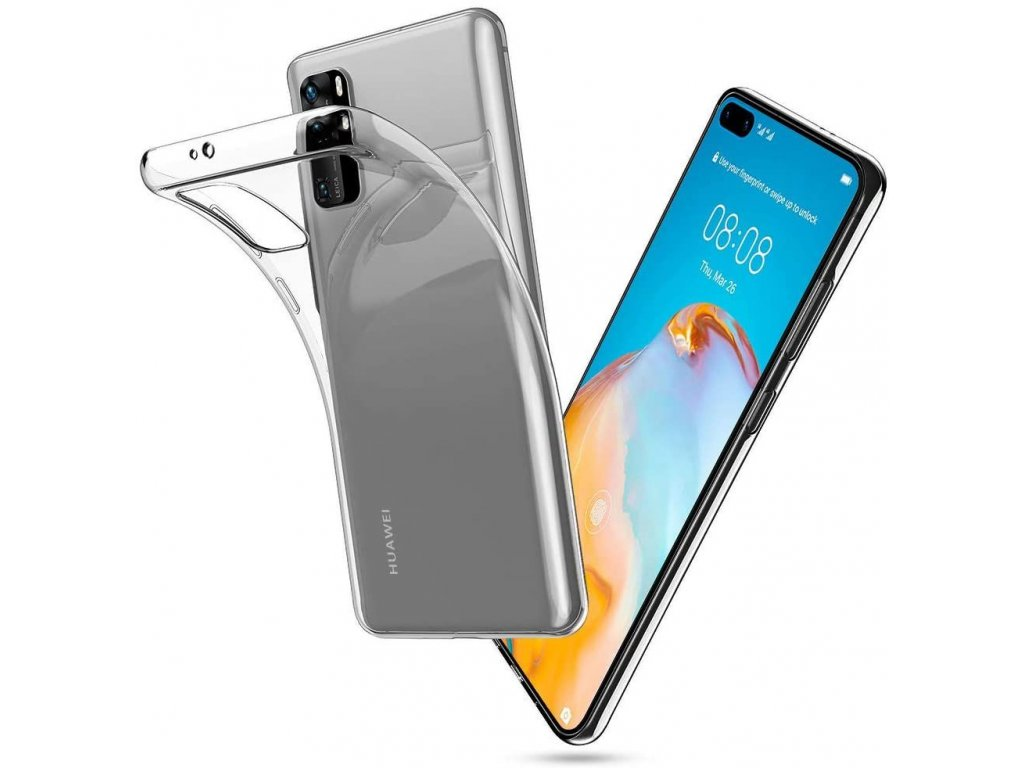 Ochranný kryt pro Huawei P40 - Tech-Protect, FlexAir Crystal