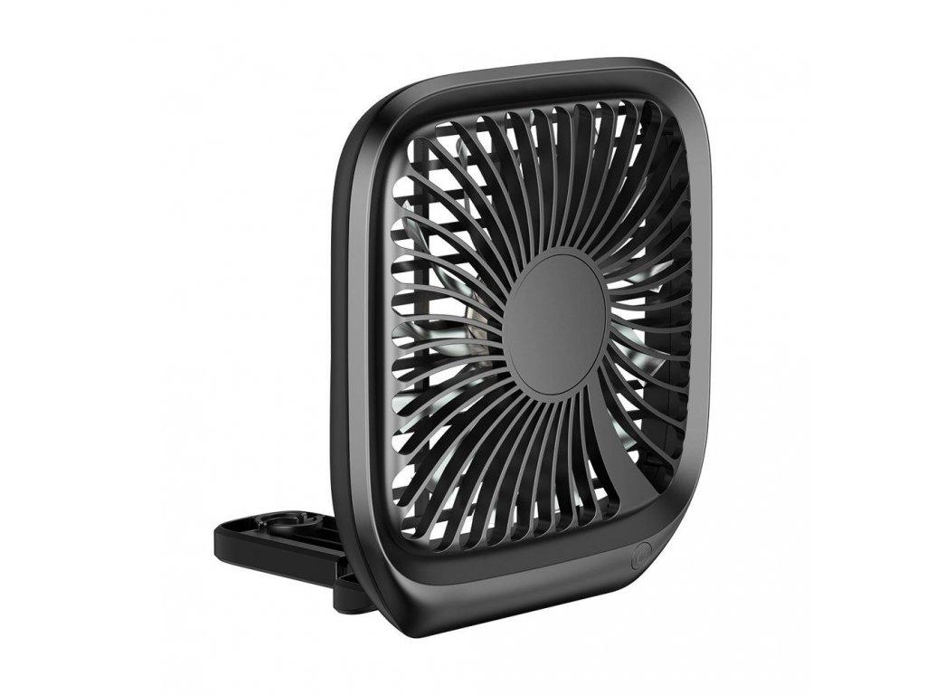 Ventilátor na opěrku hlavy - Baseus, Headrest Fan Black