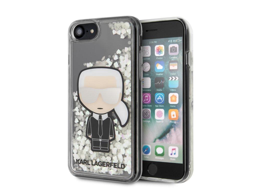 Ochranný kryt pro iPhone 7 / 8 / SE (2020) - Karl Lagerfeld, Glow in The Dark