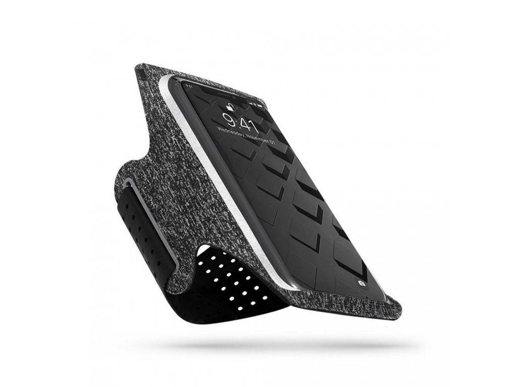 Sportovní pouzdro na mobil - Tech-Protect, G10 Universal Sport Armband Gray