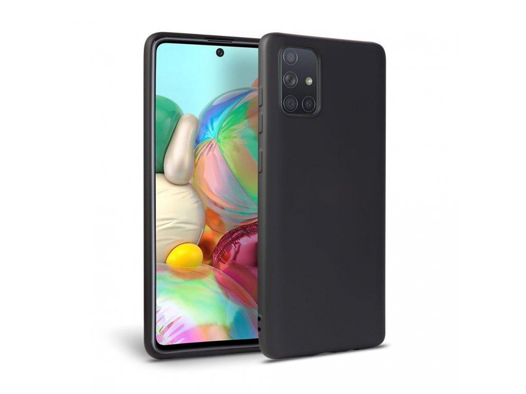 Ochranný kryt pro Samsung Galaxy A41 - Tech-Protect, Icon Black