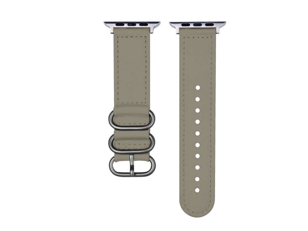 Řemínek pro Apple Watch 42mm / 44mm - Devia, Tricyclic Gray
