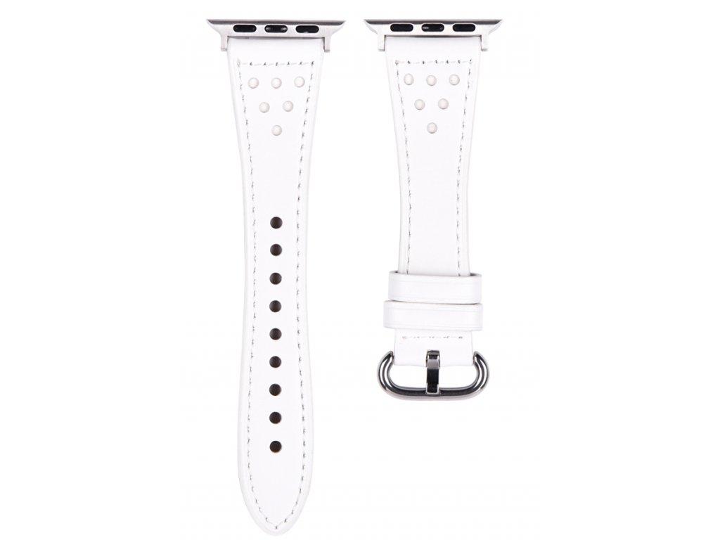 Řemínek pro Apple Watch 42mm / 44mm - Devia, Slim White