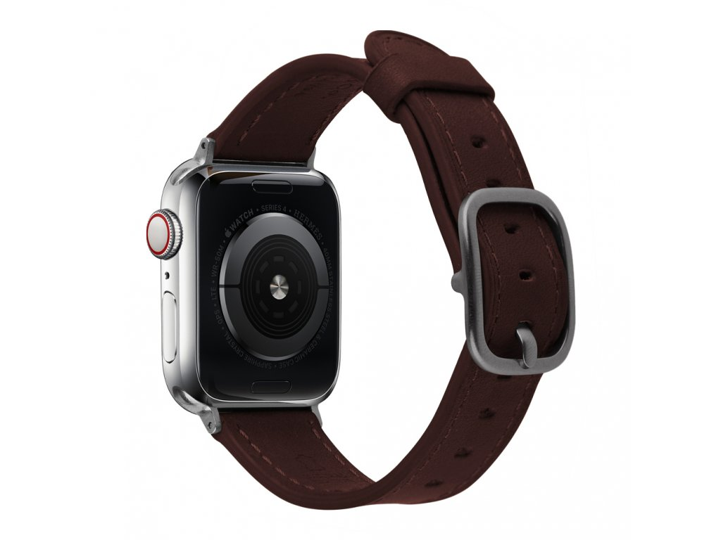 Řemínek pro Apple Watch 42mm / 44mm - Devia, Real Brown