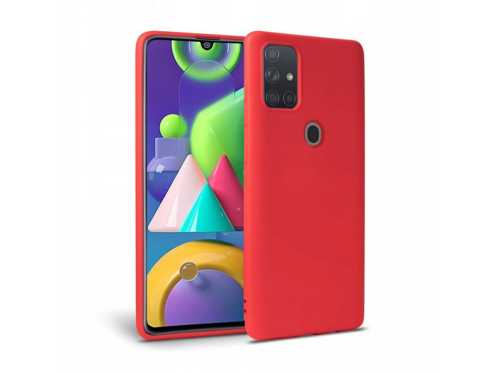 Ochranný kryt pro Samsung Galaxy A21S - Tech-Protect, Icon Red