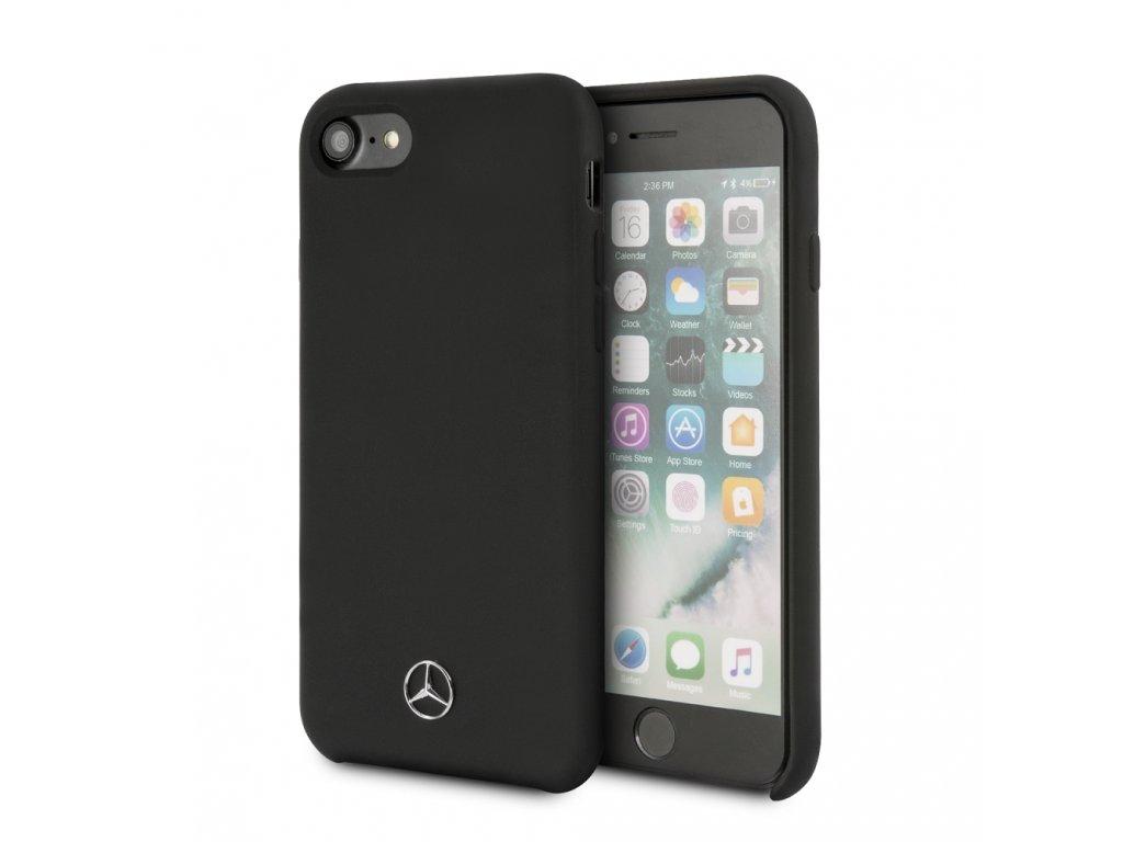 Ochranný kryt pro iPhone 7 / 8 / SE (2020) - Mercedes-Benz, Liquid Black