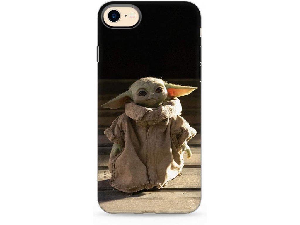 Ochranný kryt pro iPhone 7 / 8 / SE (2020) - Star Wars, Baby Yoda 001