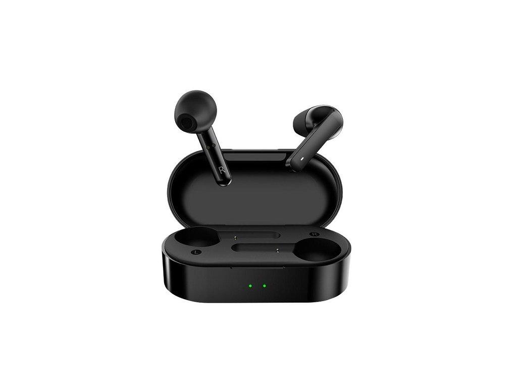 Bezdrátová sluchátka - QCY, T3 Black