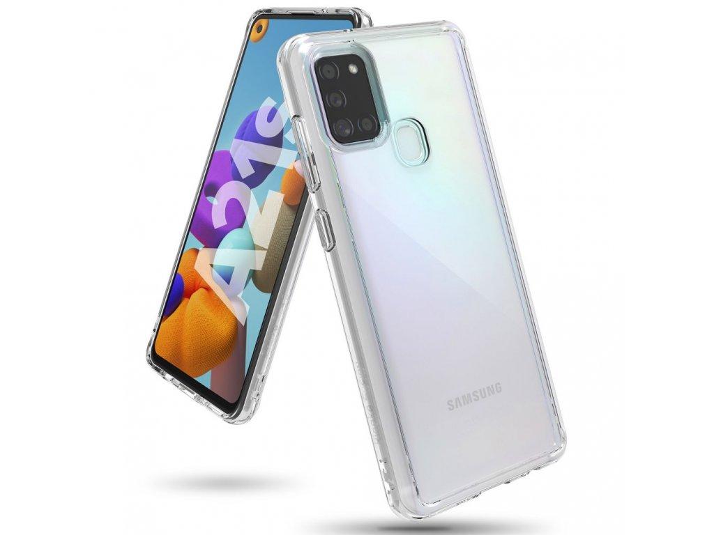 Ochranný kryt pro Samsung Galaxy A21S - Ringke, Fusion Clear
