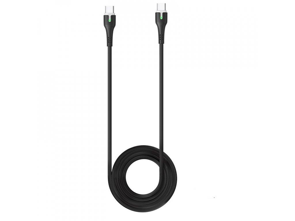 Kabel USB-C to USB-C - Hoco, X45 Surplus Black