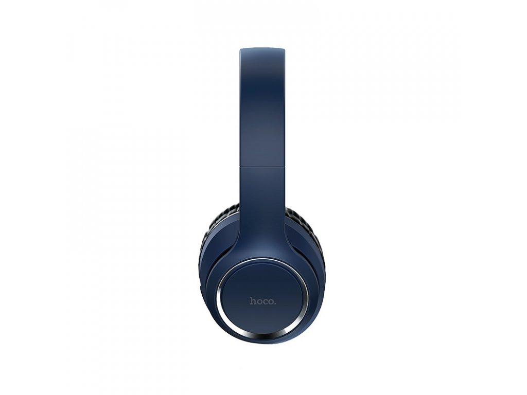 Bezdrátová náhlavní sluchátka - Hoco, W28 Journey Blue
