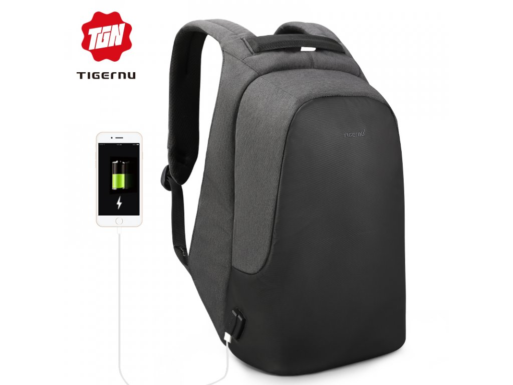 Městský batoh 15.6'' - Tigernu, T-B3615B Black