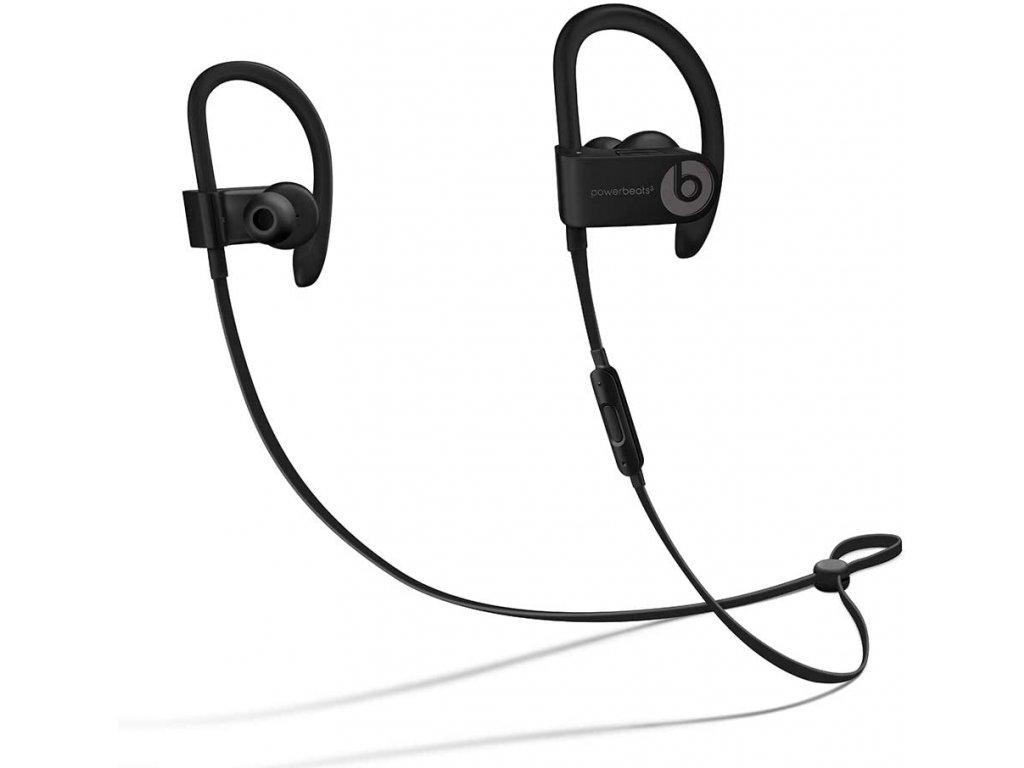 Sportovní bezdrátová sluchátka - Beats, Powerbeats 3 Black
