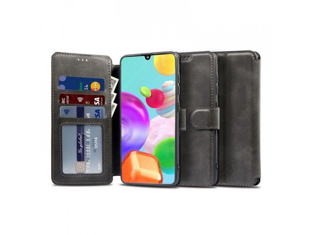 Pouzdro pro Samsung Galaxy A21S - Tech-Protect, Wallet Black