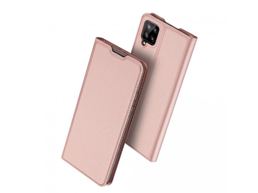 Ochranné pouzdro pro Samsung Galaxy A12 - DuxDucis, SkinPro Rose