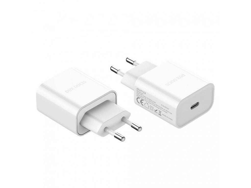 Nabíjecí adaptér USB-C - DuxDucis, C50 Power Adapter PD 20W