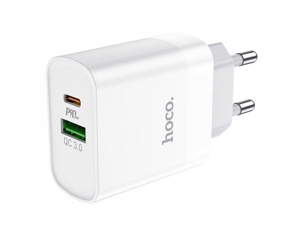 Rychlá USB nabíječka do sítě - Hoco, C80A Rapido PD20W/QC3.0