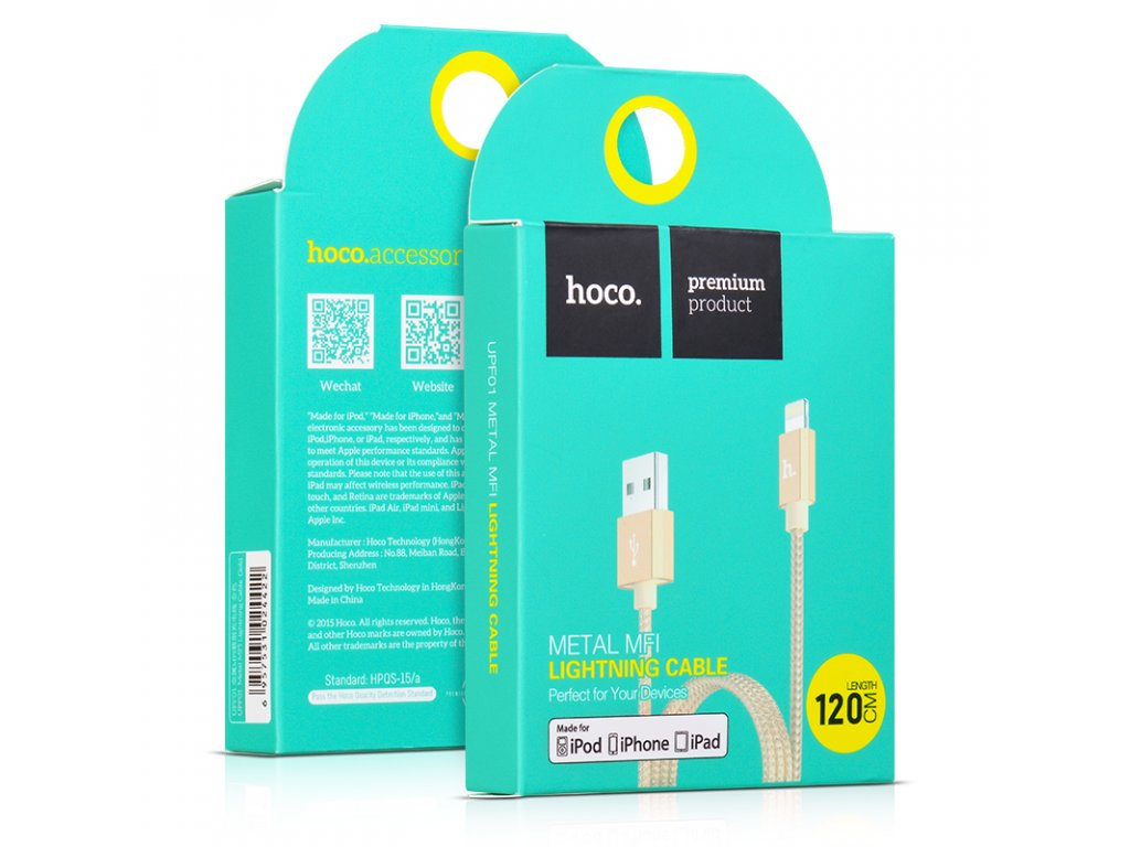 Iphone 8 Gold Lightning Kabel
