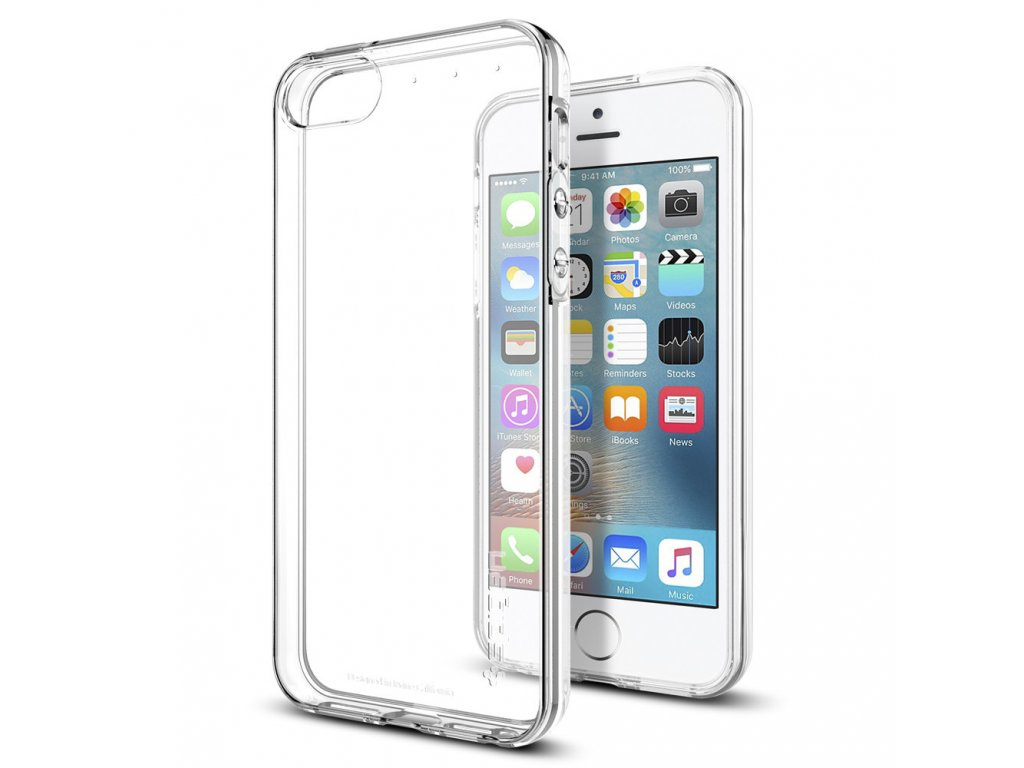 Pouzdro / kryt pro Apple iPhone 5 / 5S / SE - Spigen, Liquid Air Clear