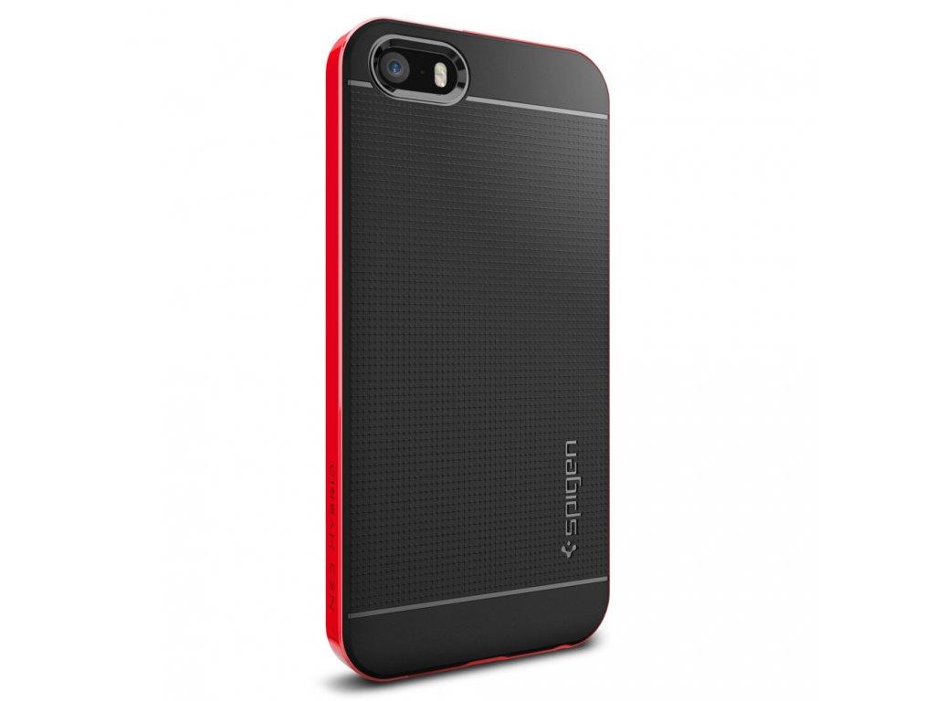 Pouzdro / kryt pro Apple iPhone 5 / 5S / SE - Spigen, Neo Hybrid Dante Red