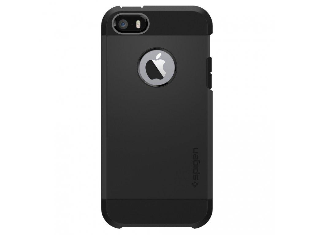 Pouzdro / kryt pro Apple iPhone 5 / 5S / SE - Spigen, Tough Armor Black