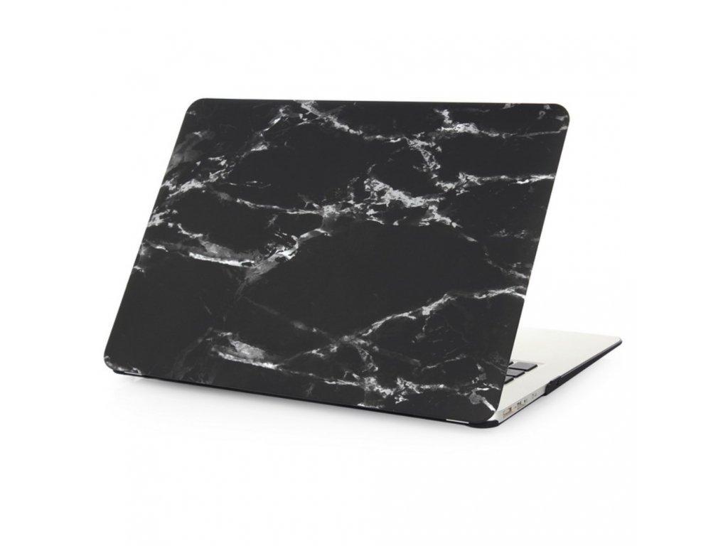 Polykarbonátové pouzdro / kryt na MacBook Air 13 (2010-2017) - Marble Black