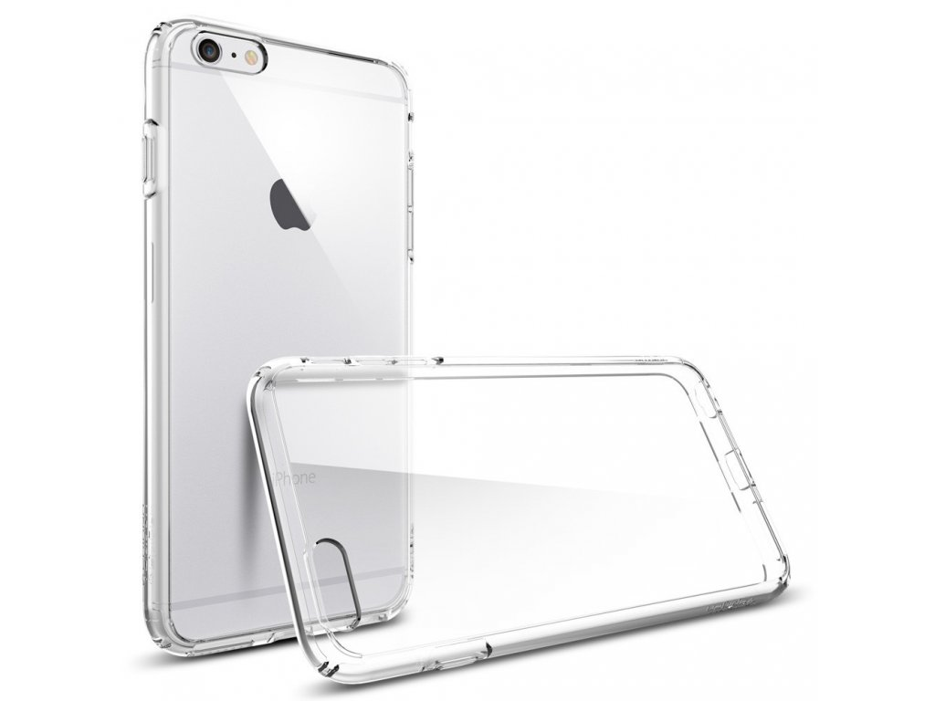 Pouzdro / kryt pro Apple iPhone 6 Plus / 6S Plus - Spigen, Ultra Hybrid Crystal Clear