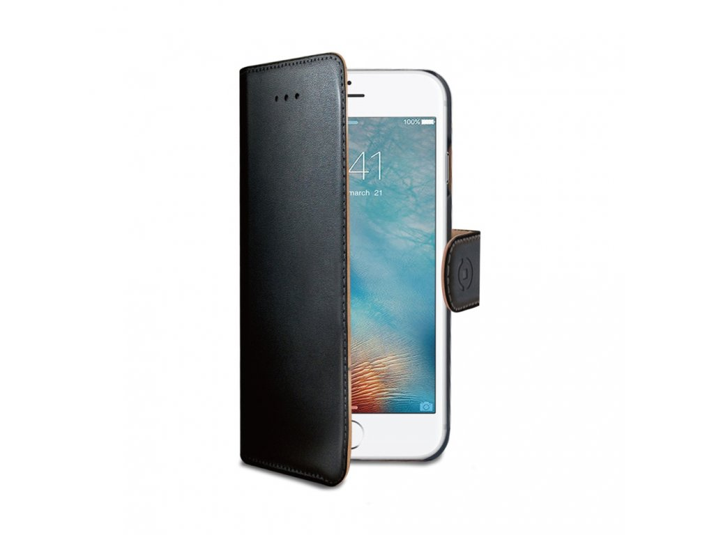 Pouzdro / kryt pro iPhone 7 Plus / 8 Plus - CELLY, Wally Black
