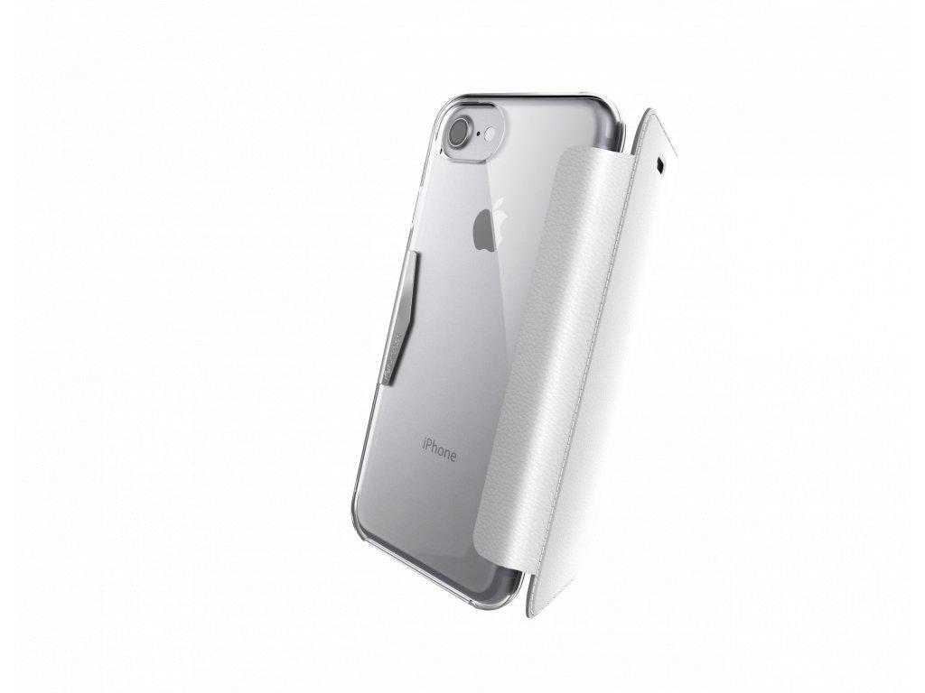 Pouzdro / kryt pro iPhone 7 / 8 - X-DORIA, ENGAGE FOLIO WHITE