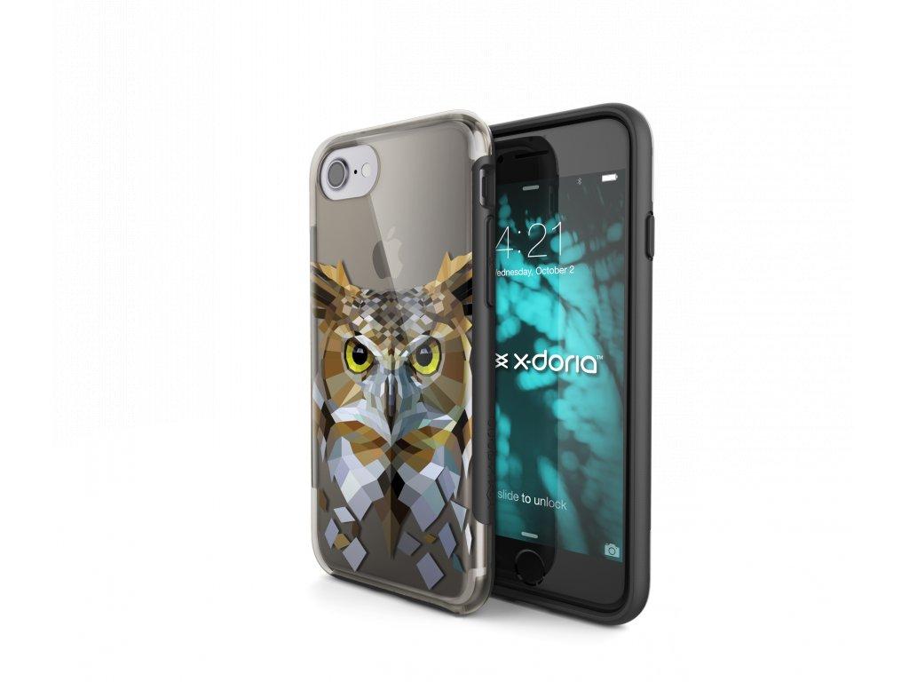Pouzdro / kryt pro Apple iPhone 7 / 8 - X-DORIA, REVEL OWL