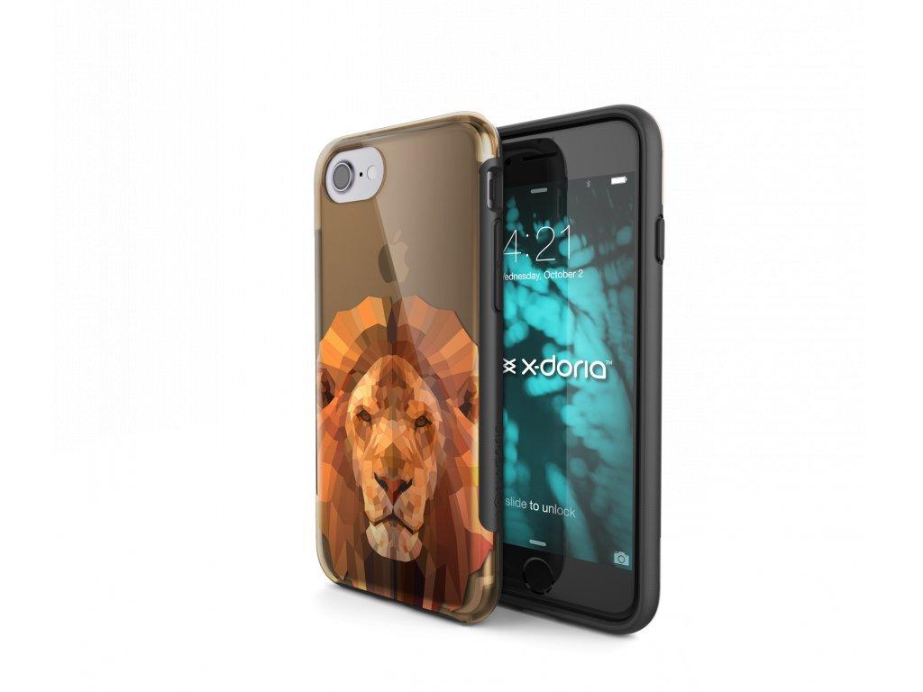 Pouzdro / kryt pro Apple iPhone 7 / 8 - X-DORIA, REVEL LION