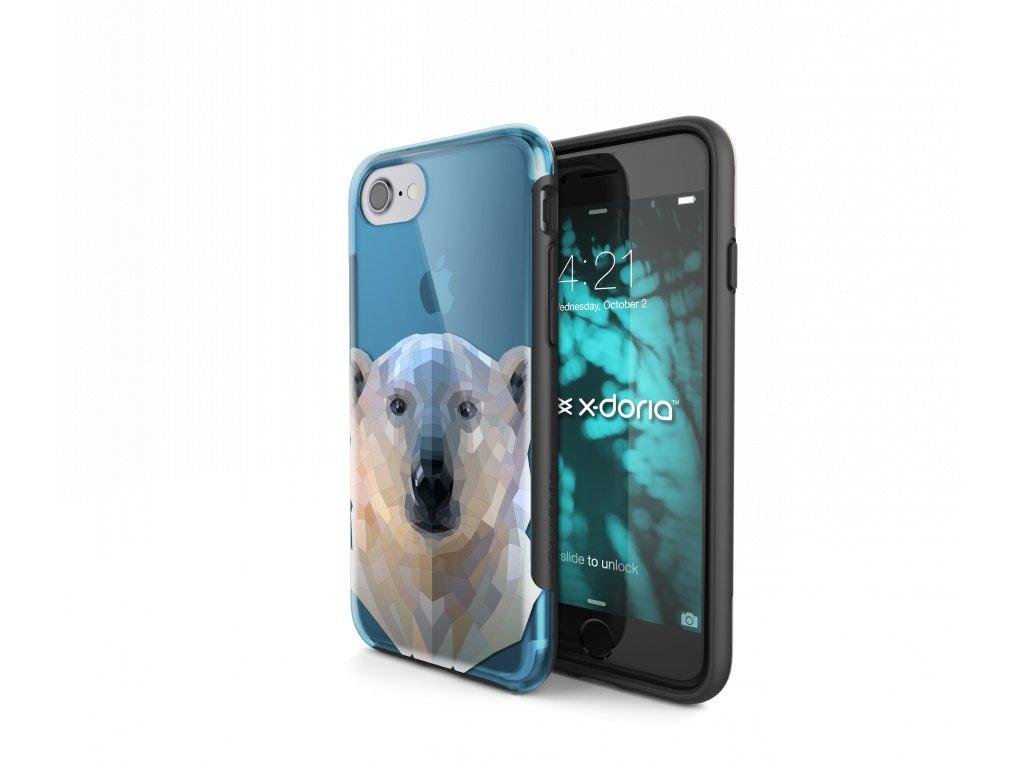 Pouzdro / kryt pro Apple iPhone 7 / 8 - X-DORIA, REVEL POLAR BEAR