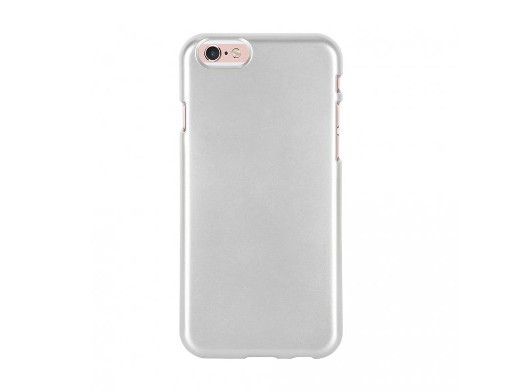 Pouzdro / kryt pro Apple iPhone 6 / 6S - Mercury, i-Jelly Silver
