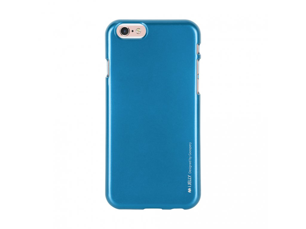 Pouzdro / kryt pro Apple iPhone 6 / 6S - Mercury, i-Jelly Blue