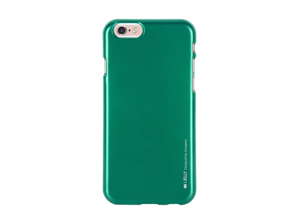 Pouzdro / kryt pro Apple iPhone 6 / 6S - Mercury, i-Jelly Green