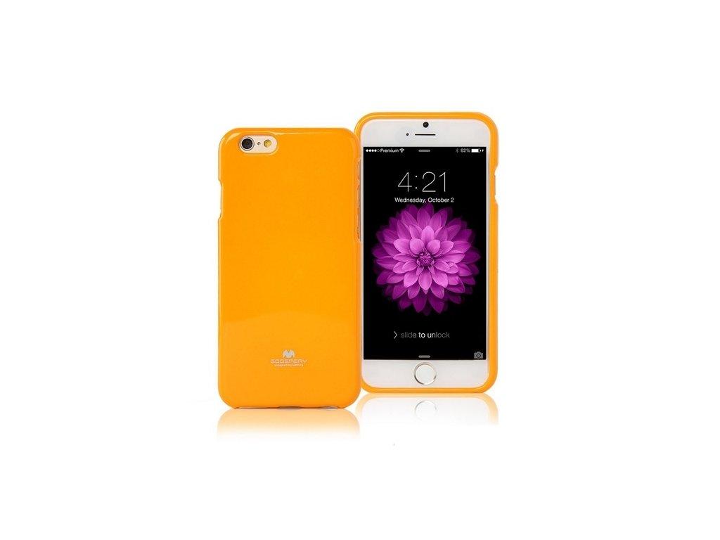 Pouzdro / kryt pro Apple iPhone 6 / 6S - Mercury, Jelly Case Yellow