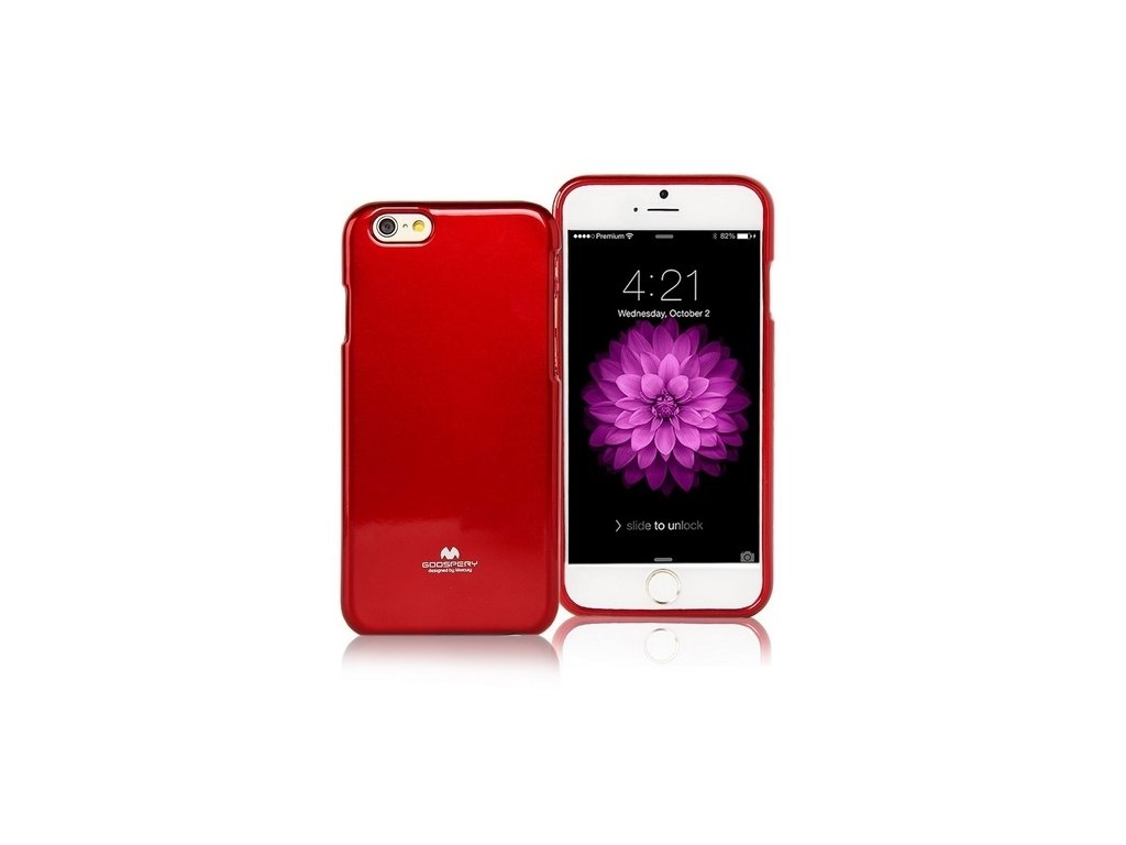 Pouzdro / kryt pro Apple iPhone 7 / 8 / SE (2020) - Mercury, Jelly Case Red