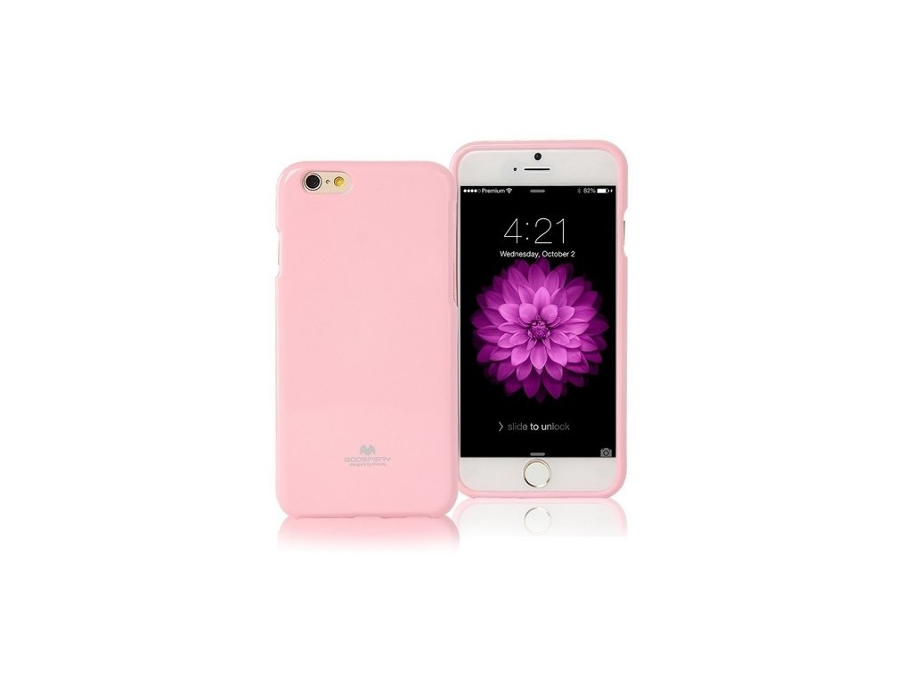 Pouzdro / kryt pro Apple iPhone 7 / 8 / SE (2020) - Mercury, Jelly Case Pink